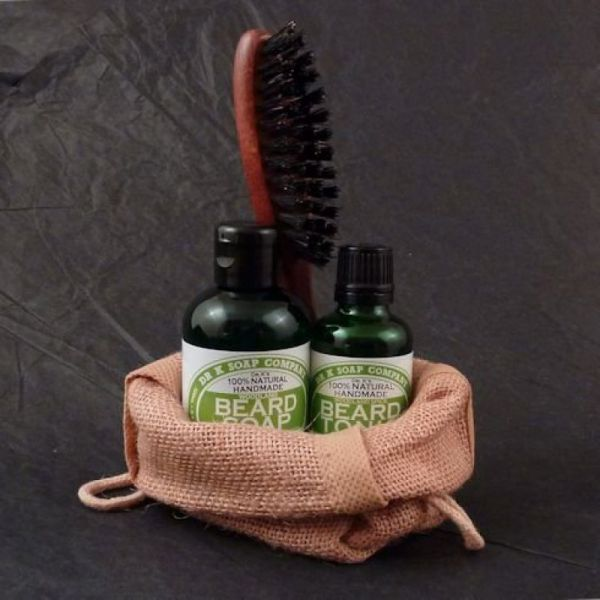 DR K SOAP Set pour barbe et moustache