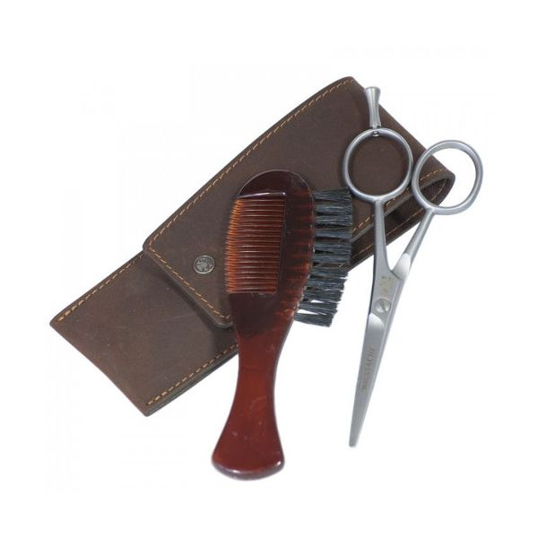 DOVO Beard and moustache grooming kit