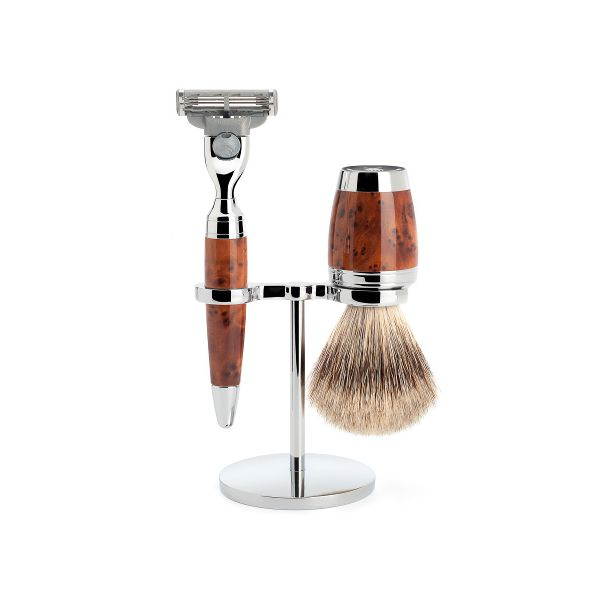 "MÜHLE Shaving set ""STYLO"" 3 pieces"