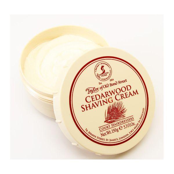 TAYLOR Crème à raser en pot - bois de cèdre