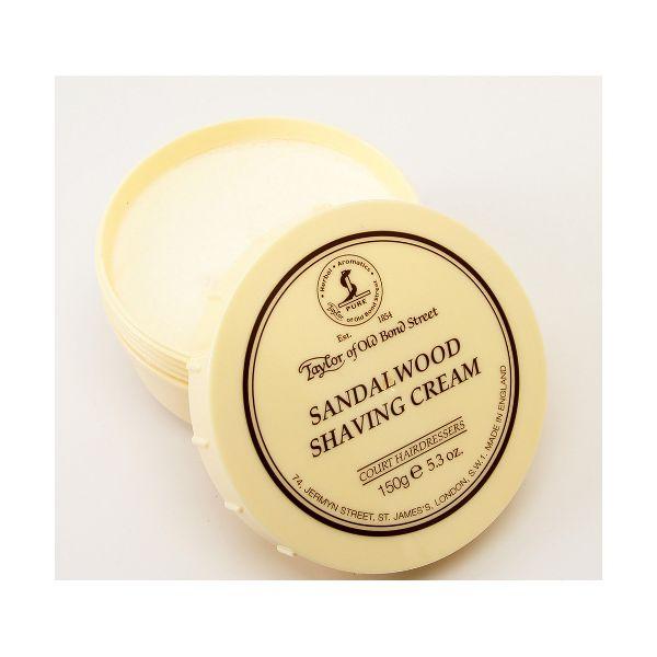 TAYLOR Crème à raser en pot - bois de santal