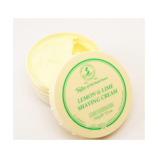TAYLOR Crème à raser en pot -  citron & lime