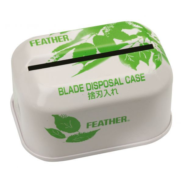 FEATHER Blade disposal case