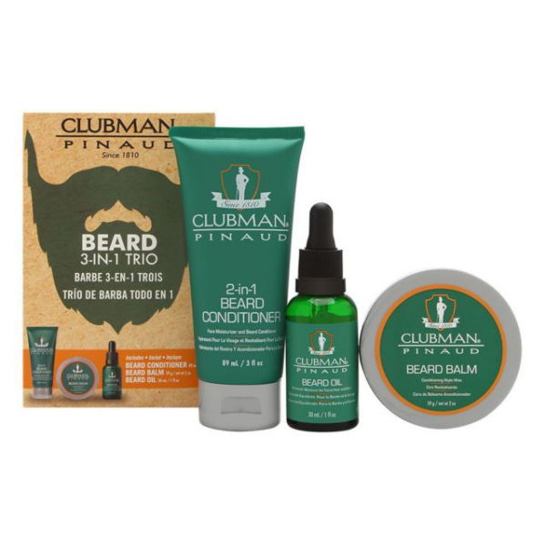 CLUBMAN PINAUD Premium beard set - 3 in 1