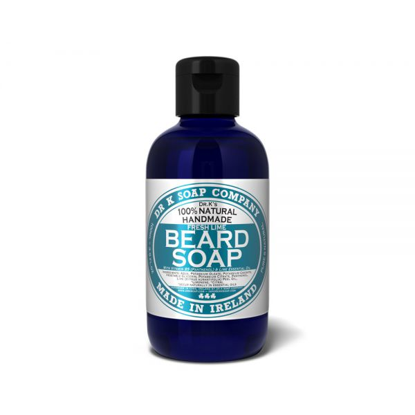 DR K SOAP Shampoing pour barbe - Fresh lime