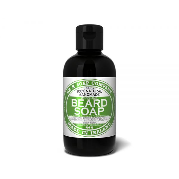 DR K SOAP Shampoing pour barbe - Woodland