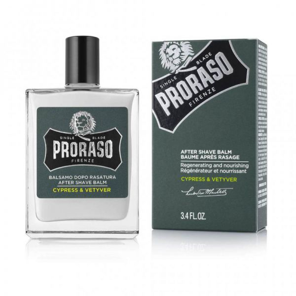 PRORASO After shave balm - Cypress & vetyver