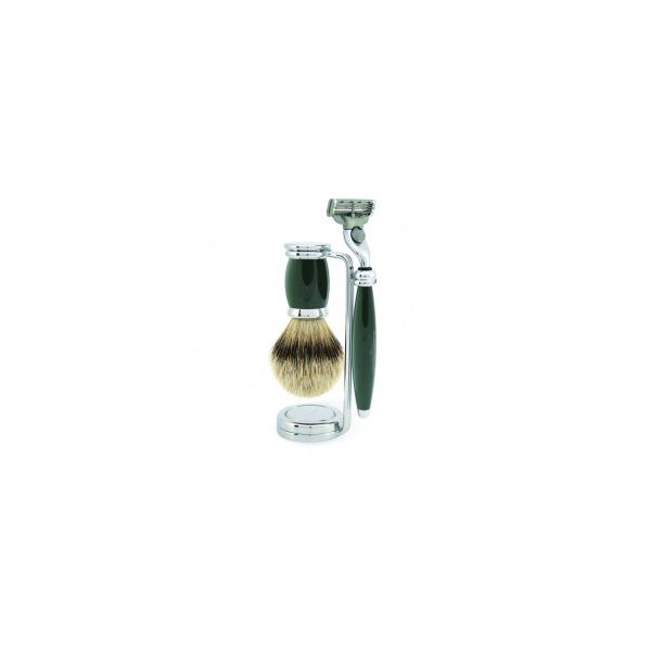 "EDWIN JAGGER Shaving set ""Bulbous green"""