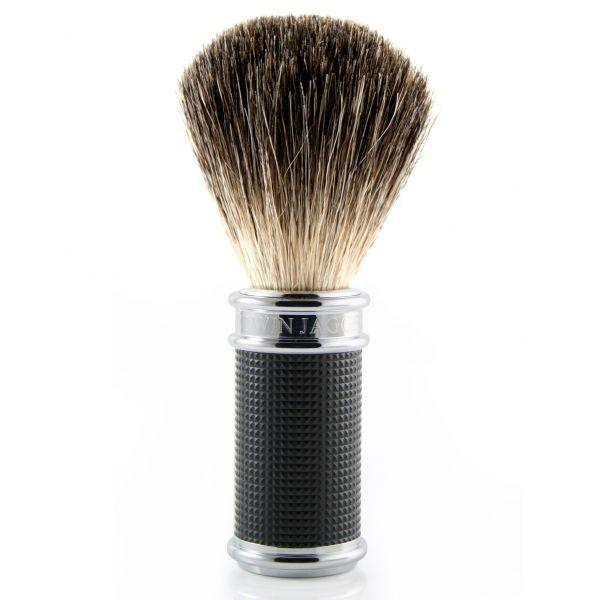 "EDWIN JAGGER Shaving set ""Black Diamond"" - Shaving brush"
