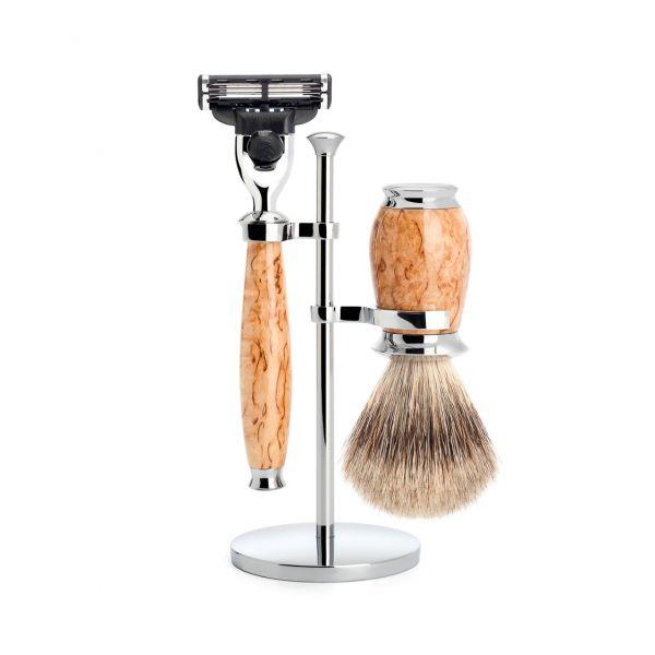 """MÜHLE Shaving set """"PURIST"""" 3 pieces"""