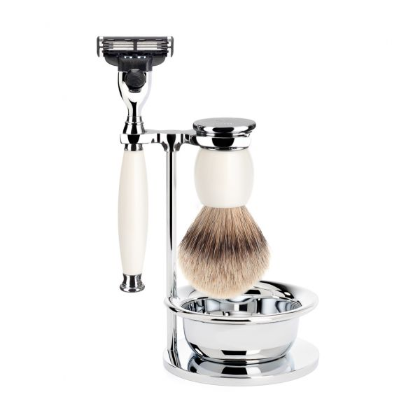 """MÜHLE Shaving set """"SOPHIST"""" 4 pieces"""