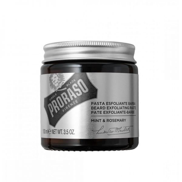 PRORASO Exfoliating paste for beard and face