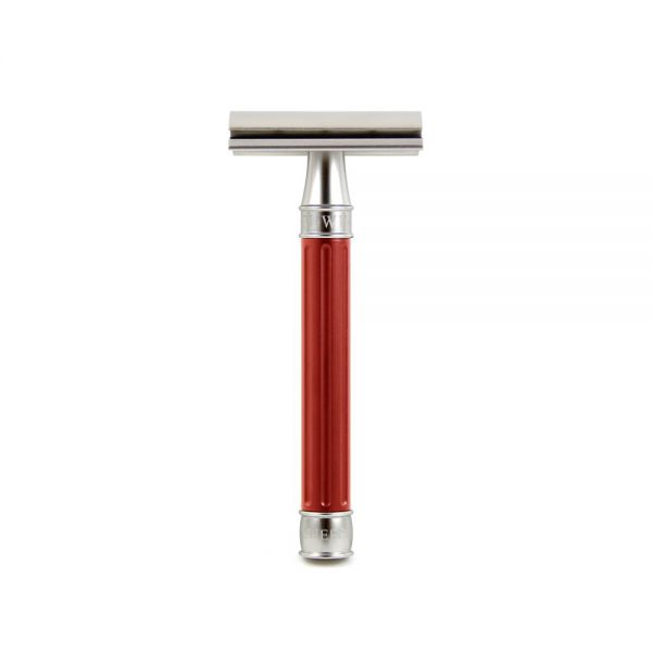 EDWIN JAGGER Safety razor 3ONE6 Red