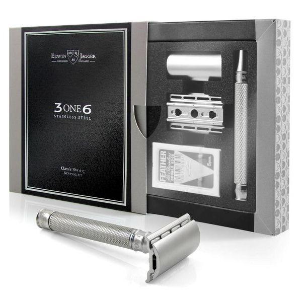 EDWIN JAGGER Safety razor 3ONE6 - box